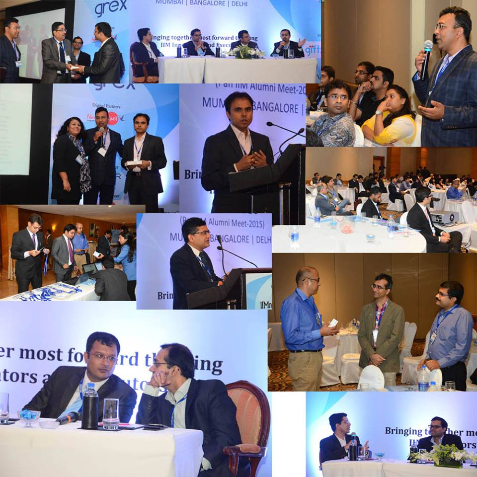 IIMnetWORK Pan IIM Alumni meet conference photos